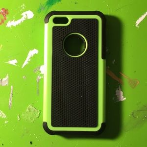 Green and black iPhone 5 case